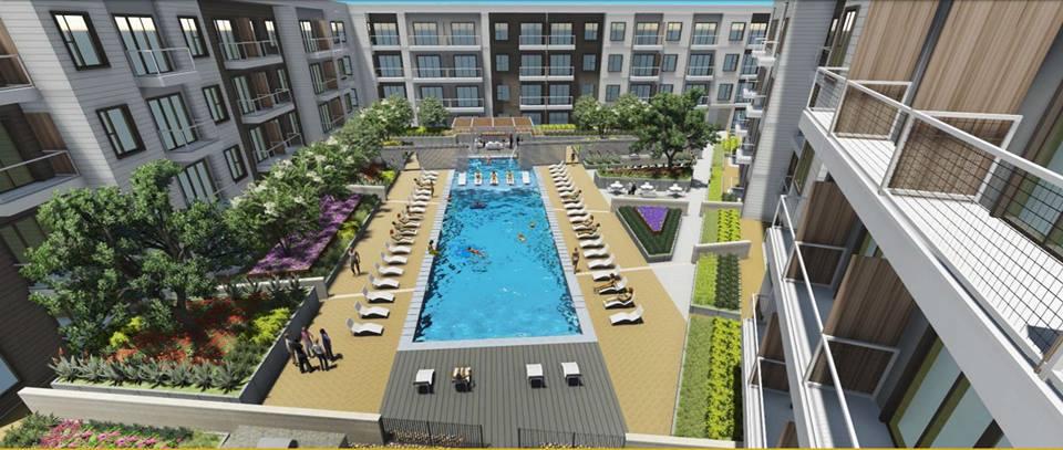 Pool at Listing #267352