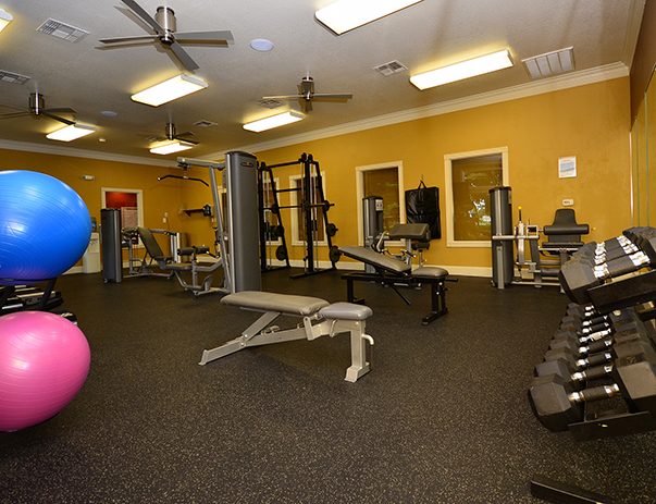 Fitness Center at Listing #147767