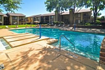 Pool at Listing #136989