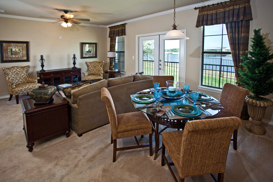 Living/Dining at Listing #147490