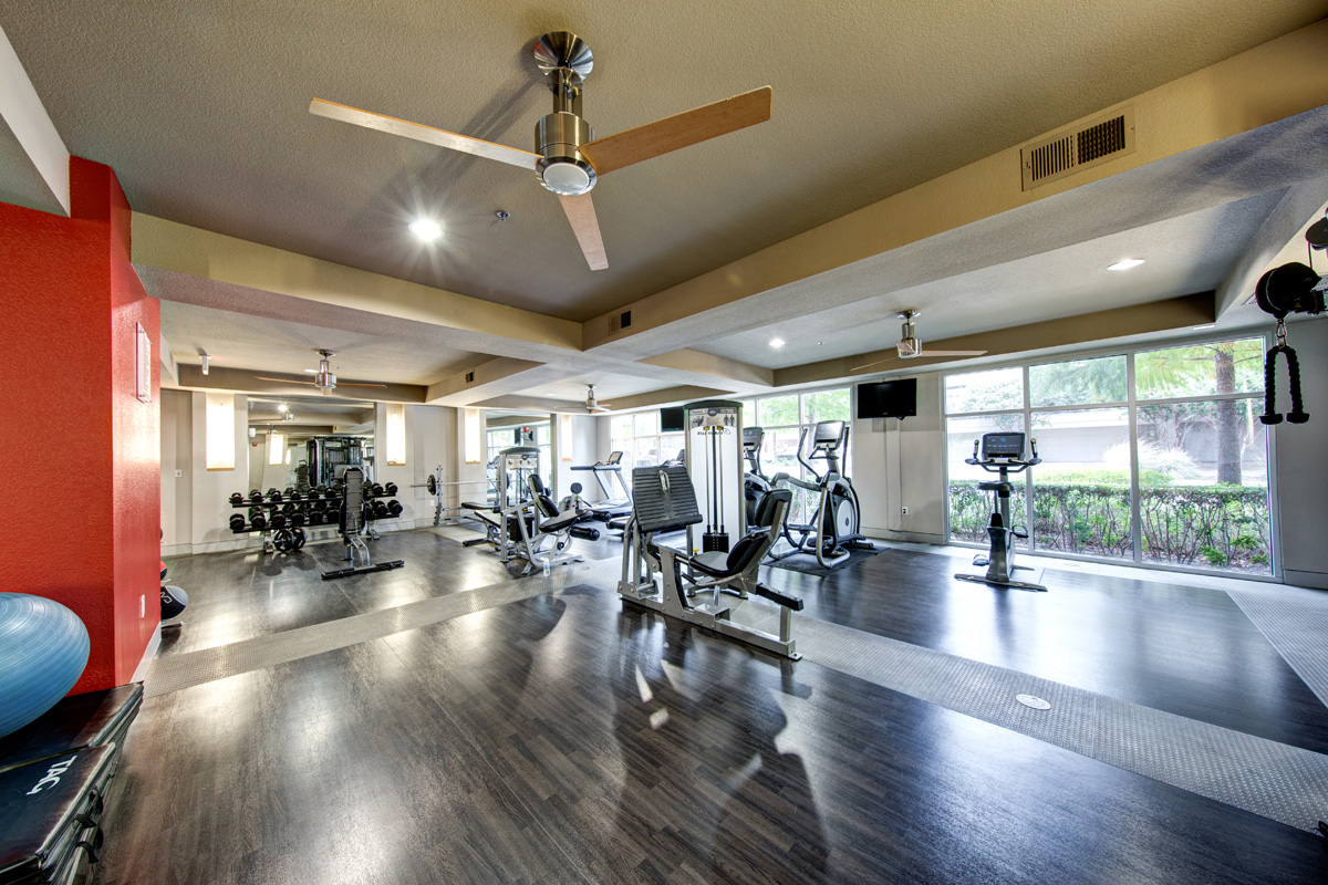 Fitness Center at Listing #237546