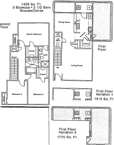 1,770 sq. ft. floor plan
