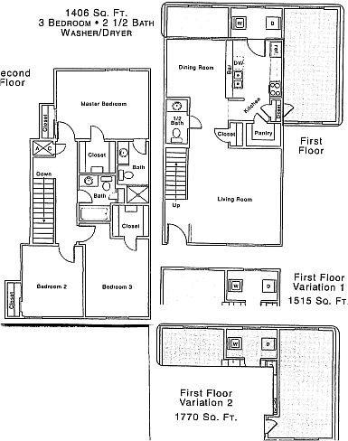 1,770 sq. ft. floor plan