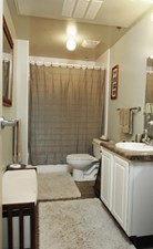 Bathroom at Listing #144157