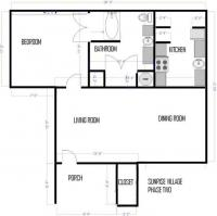 678 sq. ft. 678 floor plan