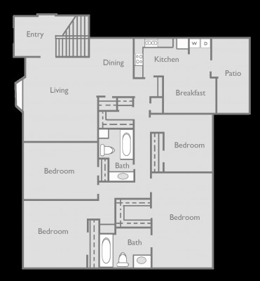 1,755 sq. ft. F floor plan