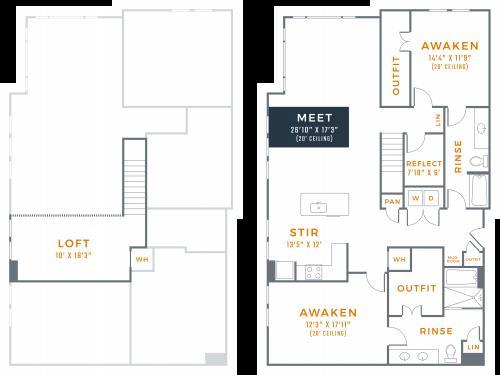 2,120 sq. ft. B3M floor plan