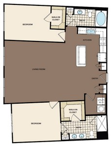 1,350 sq. ft. C1b-s-alt2 floor plan