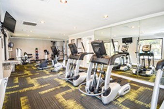 fitness center at Listing #140561