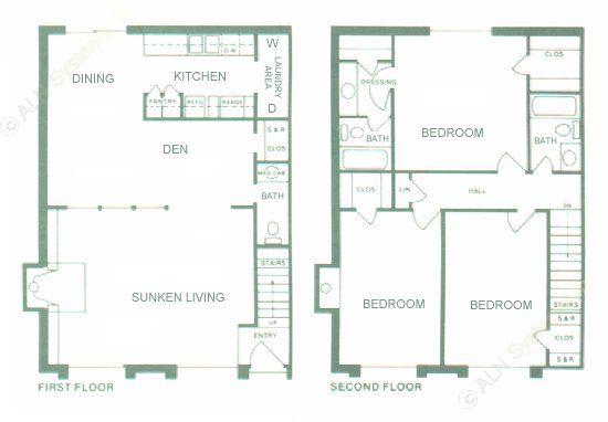 1,690 sq. ft. floor plan