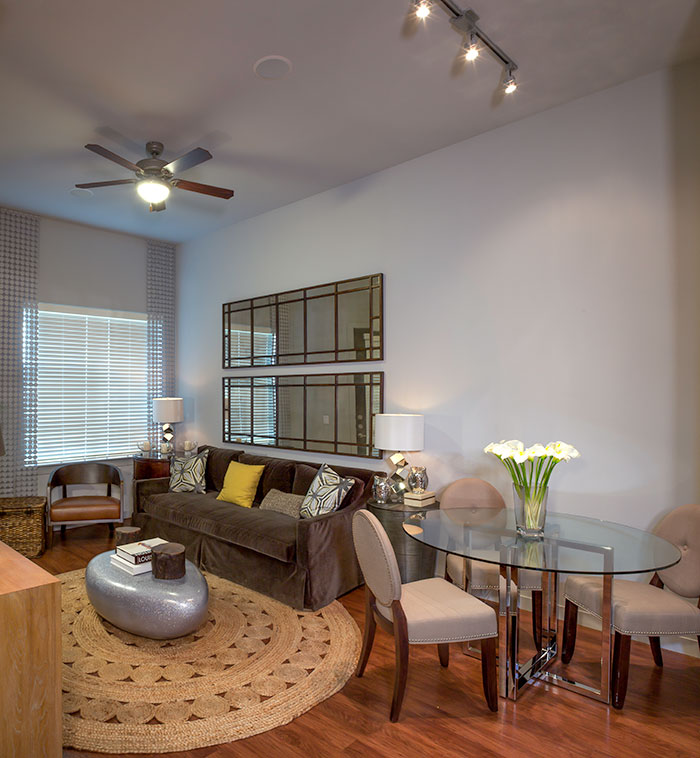 Living/Dining at Listing #227414