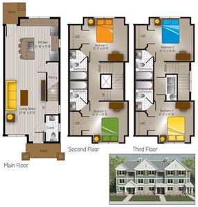 1,437 sq. ft. Marbel Falls(Cottage) floor plan