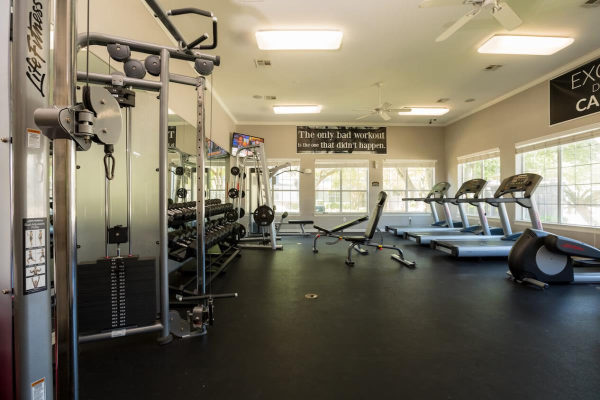 Fitness Center at Listing #140727