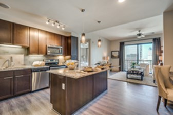 Living/Kitchen at Listing #295415