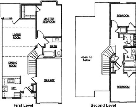 1,266 sq. ft. 50 floor plan