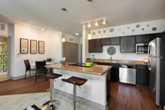 Dining/Kitchen at Listing #146487