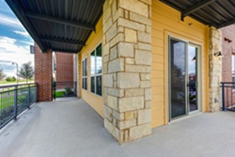 Patio at Listing #300134