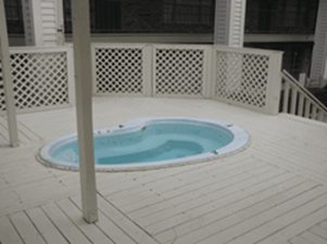 Hot Tub at Listing #138798