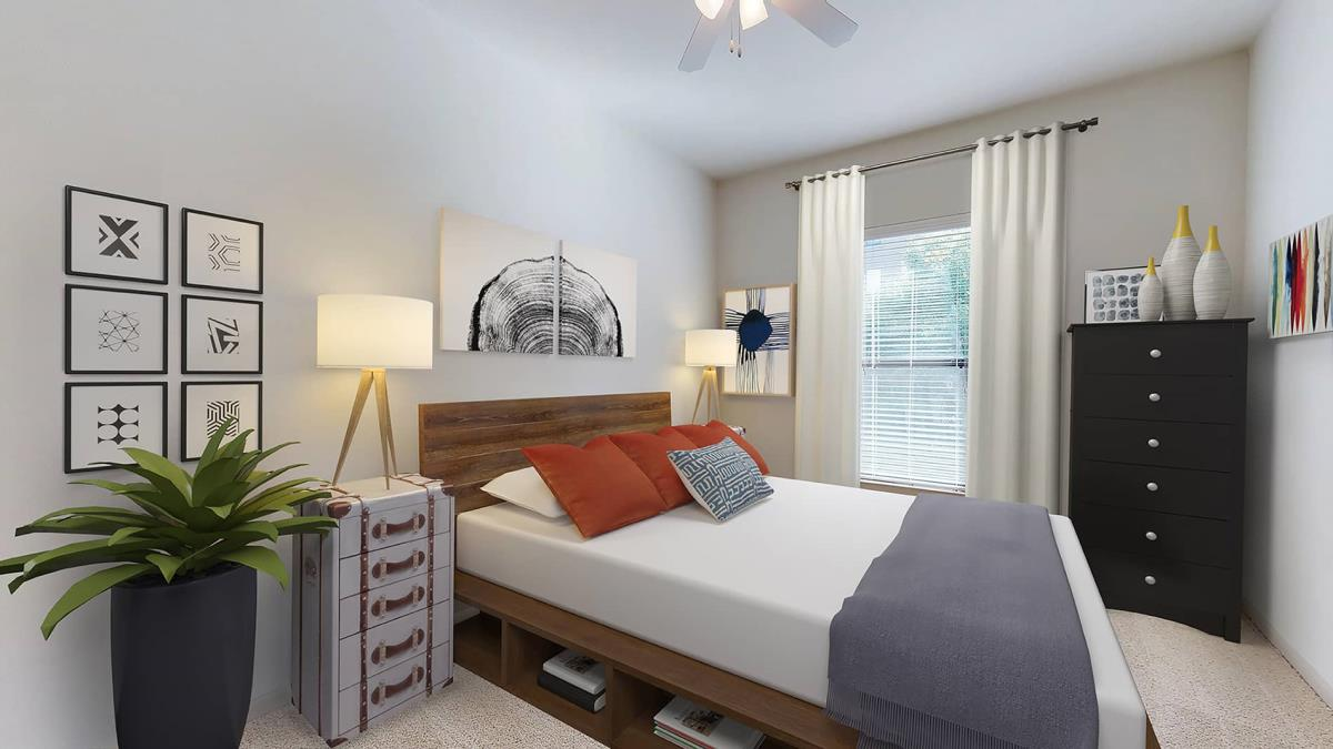 Bedroom at Listing #144781