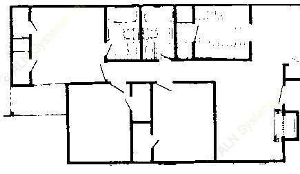 1,079 sq. ft. 80% floor plan