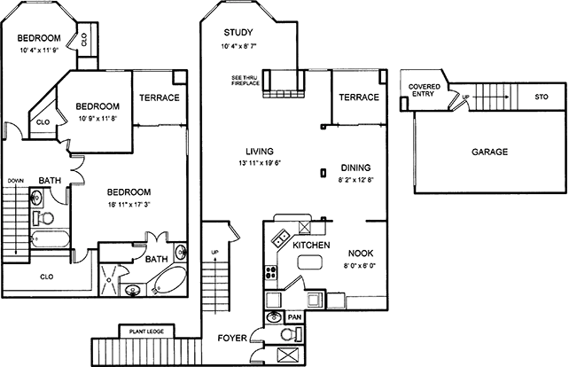 1,979 sq. ft. floor plan