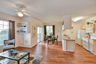 Living/Kitchen at Listing #137271