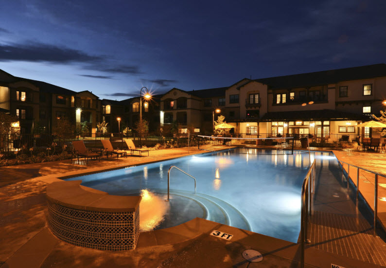 Pool at Listing #257441