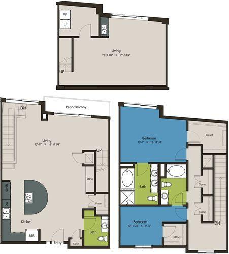 2,113 sq. ft. TSN floor plan