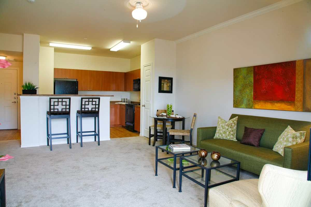 Living/Kitchen at Listing #145035