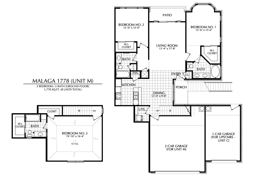 1,778 sq. ft. M floor plan