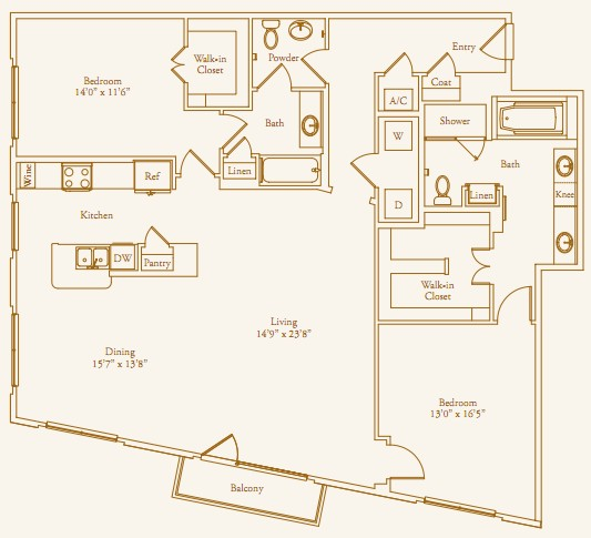 1,737 sq. ft. Del Monte floor plan