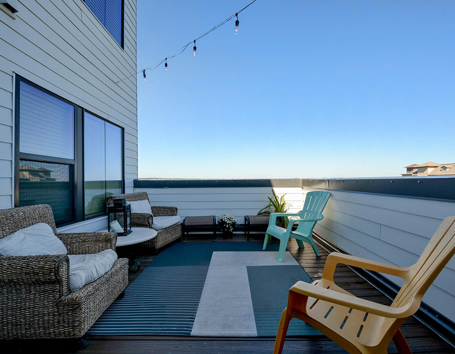Patio at Listing #252115