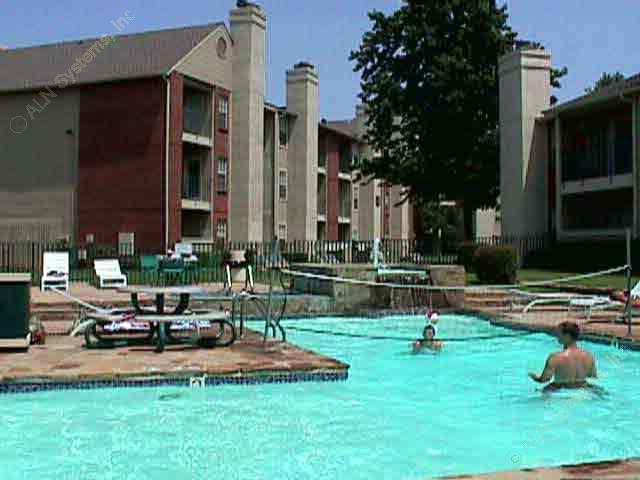 Pool Area at Listing #135688
