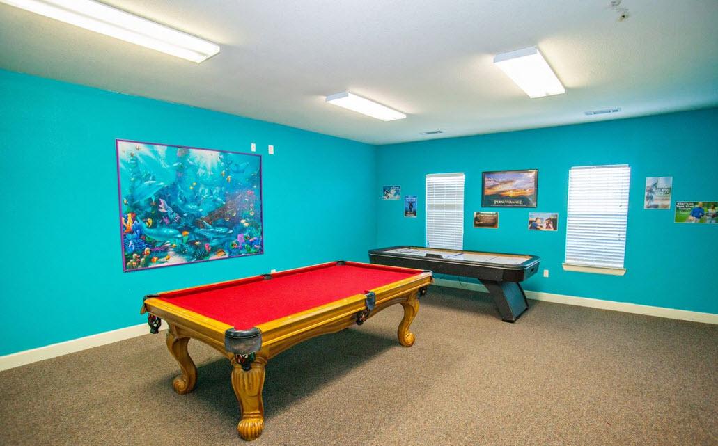 Gameroom at Listing #231839