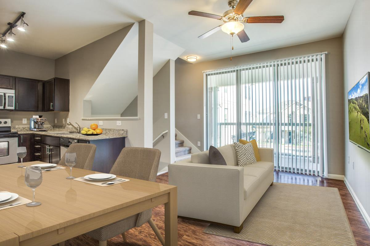 Living Area at Listing #242933