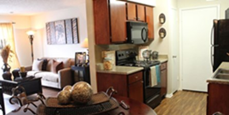 Living/Kitchen at Listing #136833