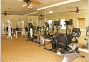 Fitness Center at Listing #144388