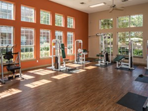Fitness Center at Listing #135848