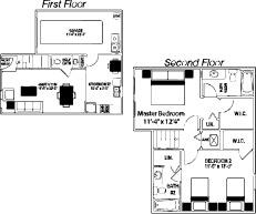 1,502 sq. ft. 60% floor plan