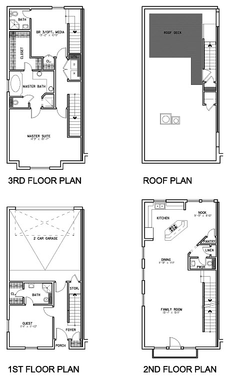 1,920 sq. ft. Floor Plan C floor plan