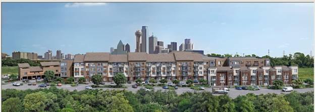 Oaks of Trinity Apartments Dallas, TX