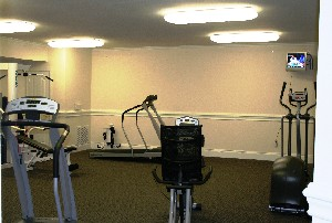Fitness Center at Listing #144397