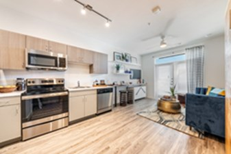 Living/Kitchen at Listing #309993