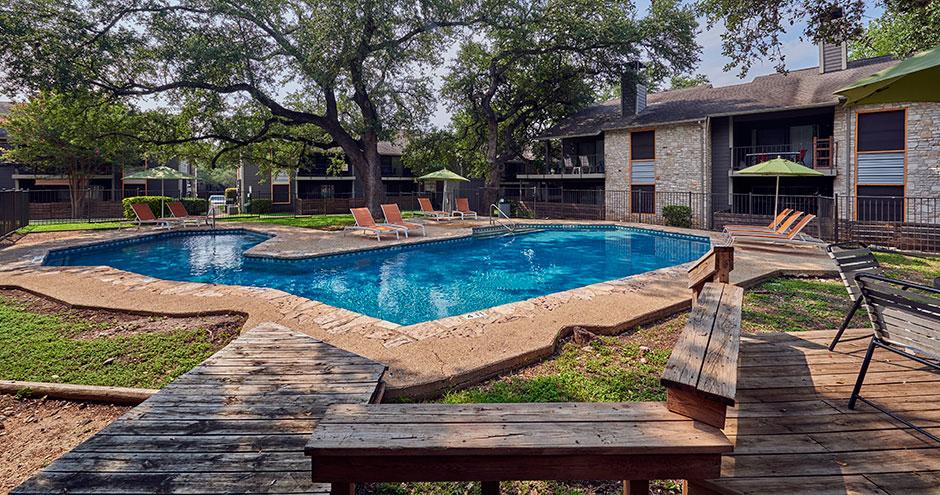 Pool at Listing #140888