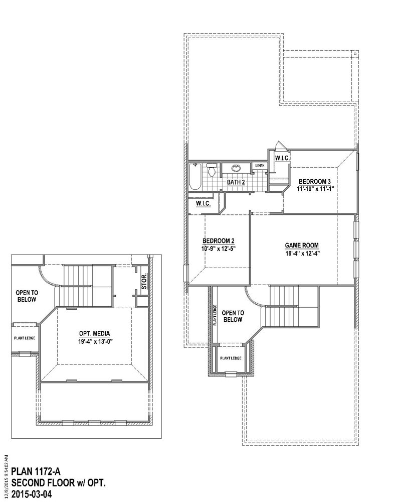 2,235 sq. ft. floor plan