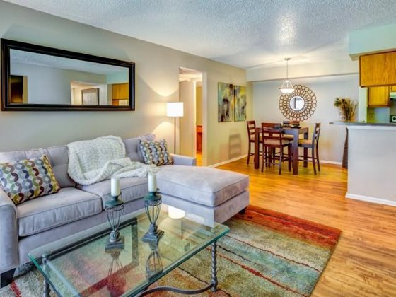 Living/Dining at Listing #140301