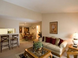Living/Dining at Listing #139955