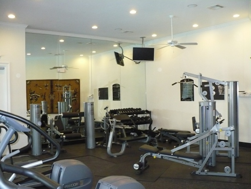 Fitness Center at Listing #144553