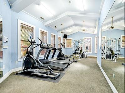 fitness center at Listing #138042