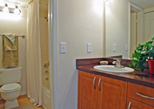 Bathroom at Listing #138835